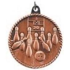 HR715 Bowling Medal